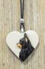 Chihuahua pk  -koiruuksia sydänkaulakoru