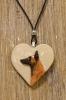 Belgianpaimenkoira malinois - koiruuksia sydänkaulakoru