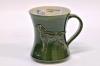 Kiharakarvainen noutaja muki - Curly Coated Retriever mug