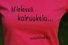 Mielessä koiruuksia... T-paita lady fit b. FUKSIA